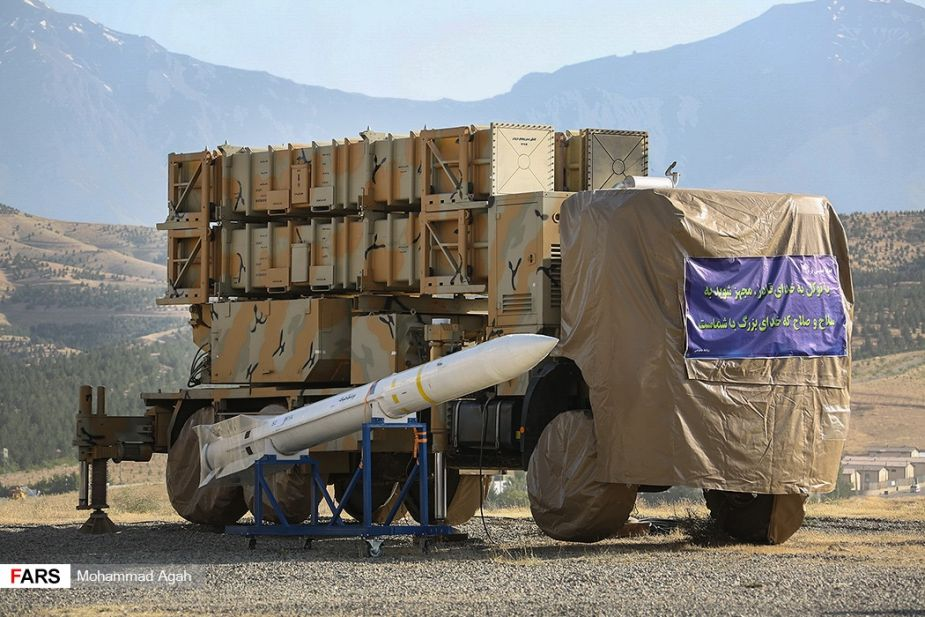 Iran unveils new Khordad 15 air defense missile system 925 001