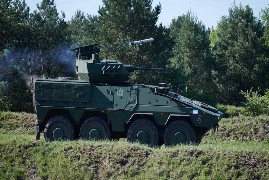 Lithuania receives first two Boxer Vilkas Infantry Fighting Vehicles