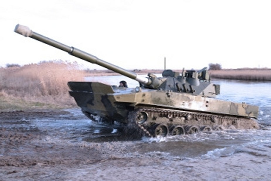 Russia developing new lightweight tank based on Sprut SDM1