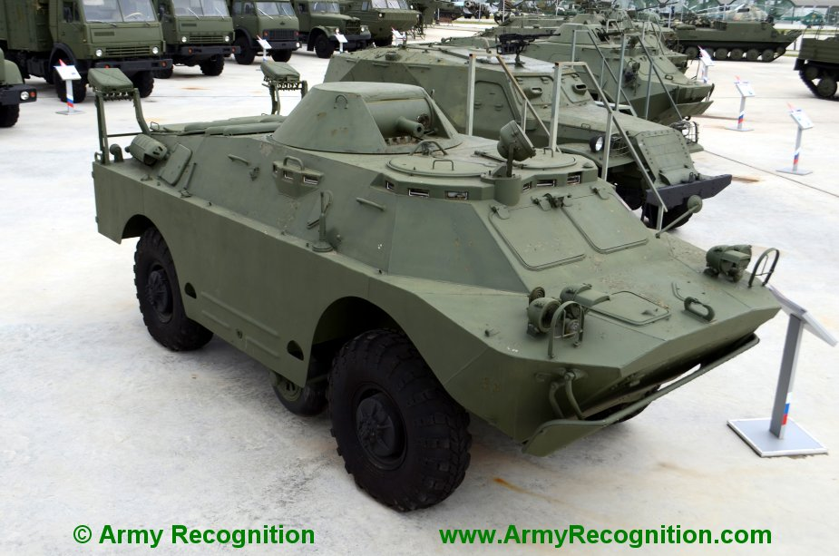 Russia offers BRDM 2 reconnaissance vehicles to Serbia