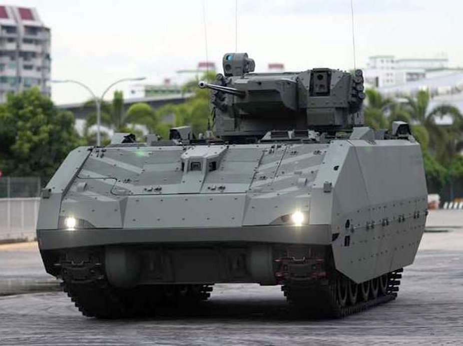 Singapore Hunter armoured fighting vehicle commissioned 2