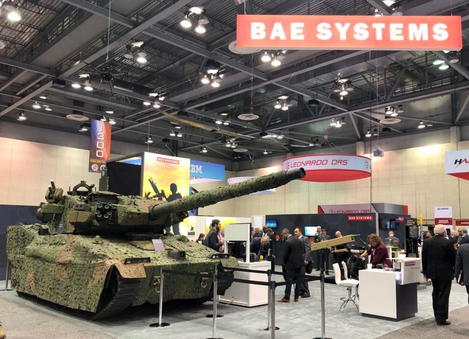 BAE Systems displays its light tank upgraded with active protection systems at AUSA 2019 1
