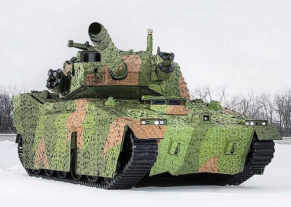BAE Systems displays its light tank upgraded with active protection systems at AUSA 2019 2