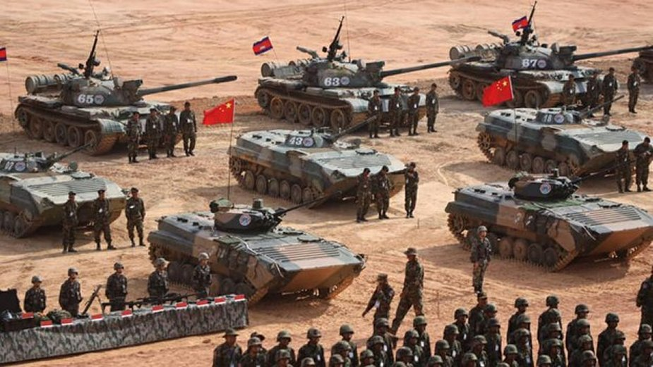 China and Cambodia kick off Golden Dragon 2019 exercise 2