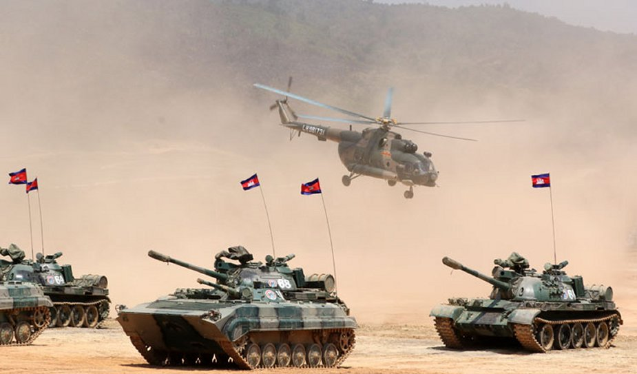 China and Cambodia kick off Golden Dragon exercise