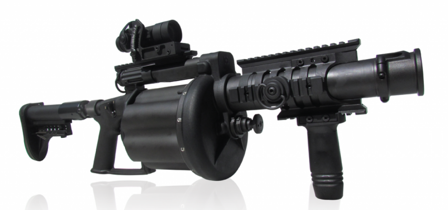 Milkor supplied South African National Defence Force with Y4 SuperSix grenade launchers