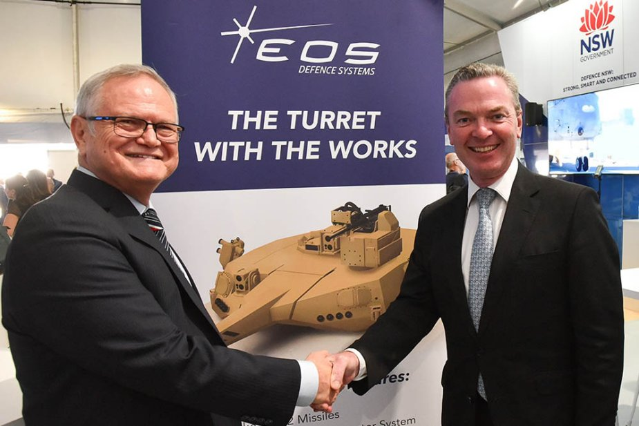 New EOS turret launched at Avalon 2019 1