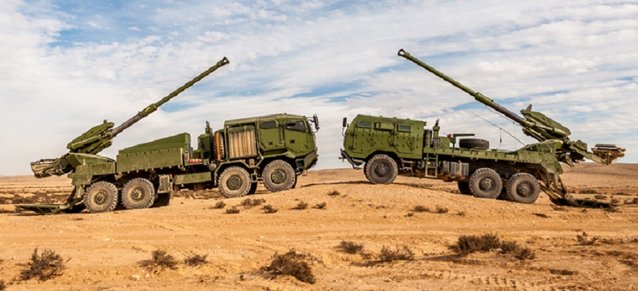 Israel invests in new artillery with ATMOS automatic howitzer guns by Elbit Systems