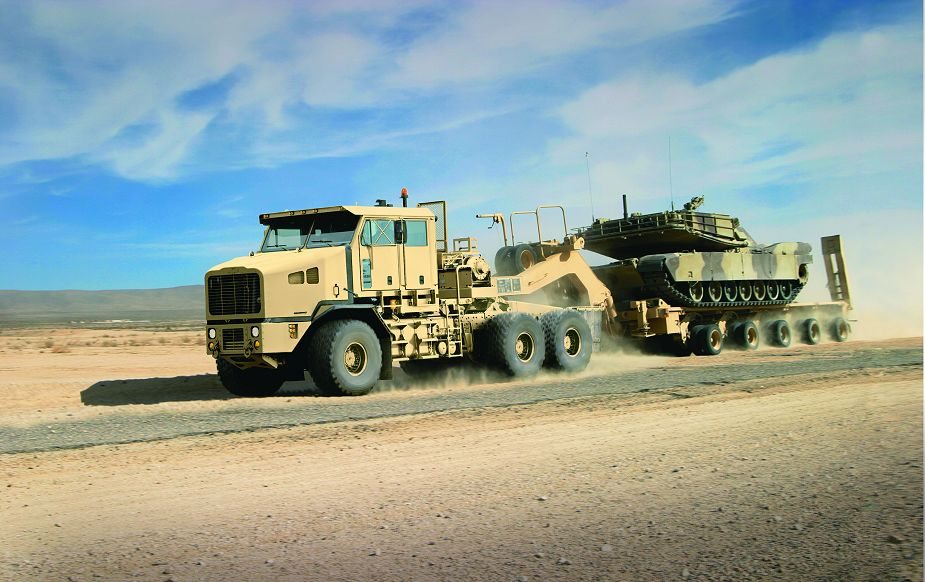 Oshkosh Defense to produce HET truck semitrailer for U.S. Army 925 001