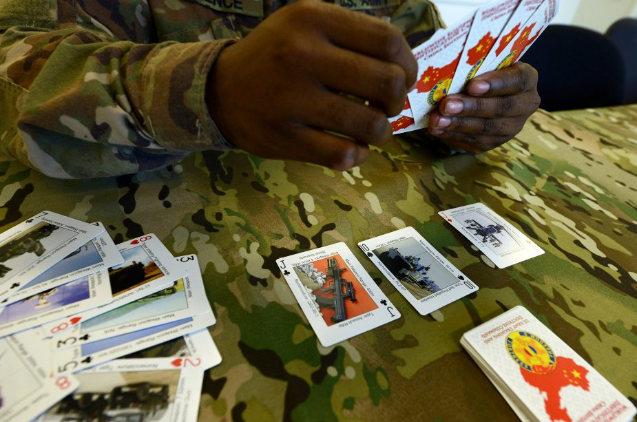 New U.S. Army training playing cards available via Army Recognition