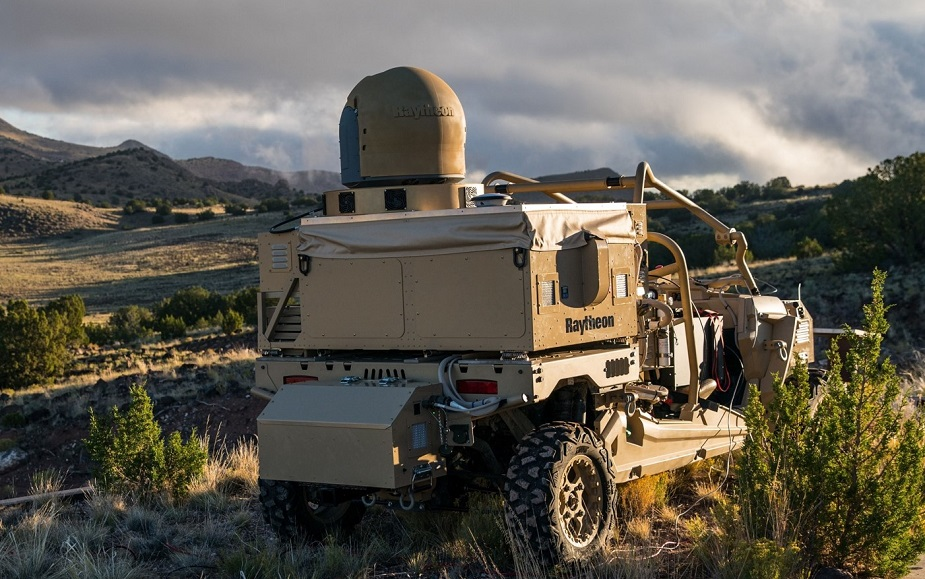 Raytheon delivers first laser counter UAS System to U.S. Air Force 2