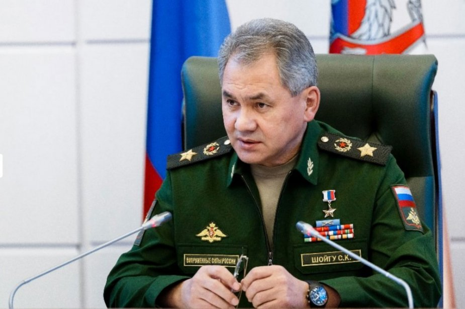 Russian Defense minister Shoigu comments on armed forces rearmament