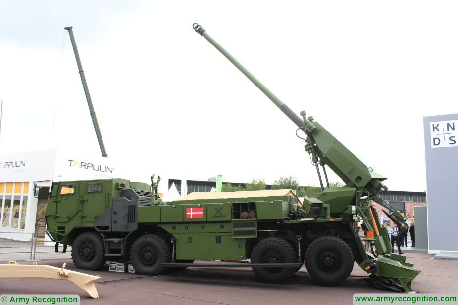 denmark purchase 4 additional nexter caesar 8x8 sellf propelled howitzer