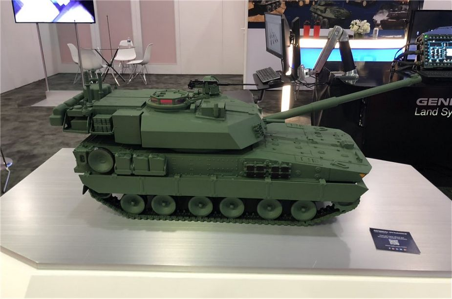 General Dynamics unveils Griffin II light tank for Mobile Protected Firepower of US Army 925 001