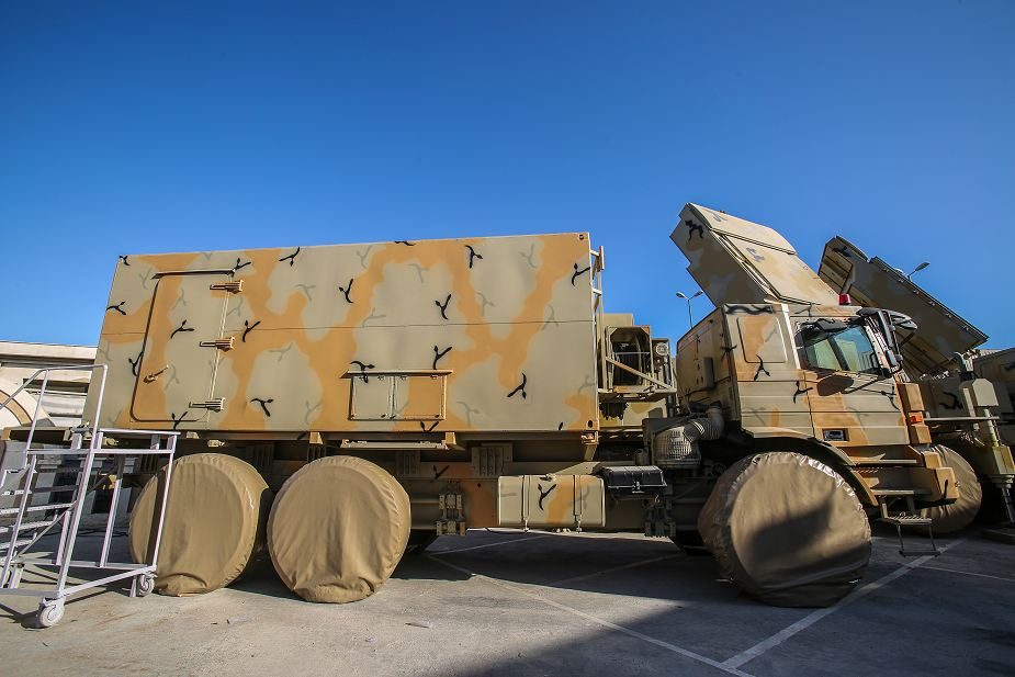 Command Post Bavar 373 Iranian made air defense missile system analysis battery 925 001