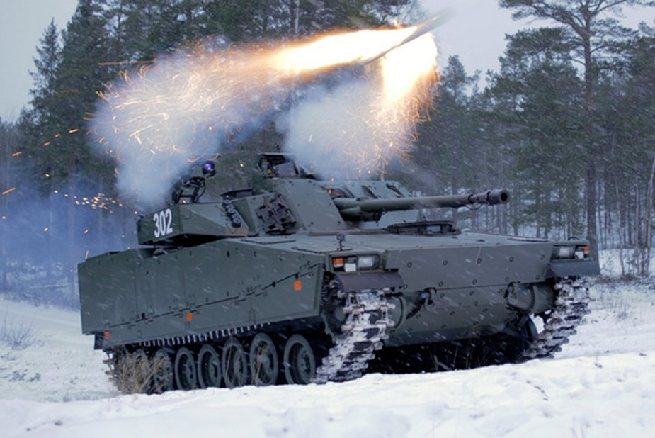 BAE Systems CV90 increases lethality by testing SPIKE LR anti tank guided missile