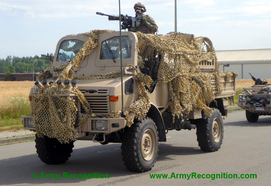 Belgian army to replace Unimog 1300L and Volvo N10 with 879 trucks 3