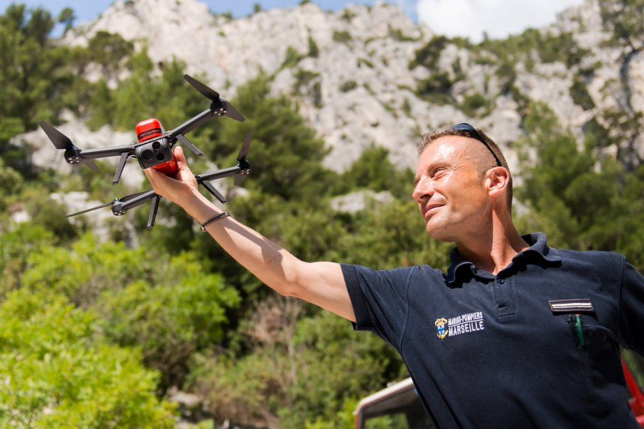 French Navy firefighter battalion acquires Novadem NX70 micro UAVs 2