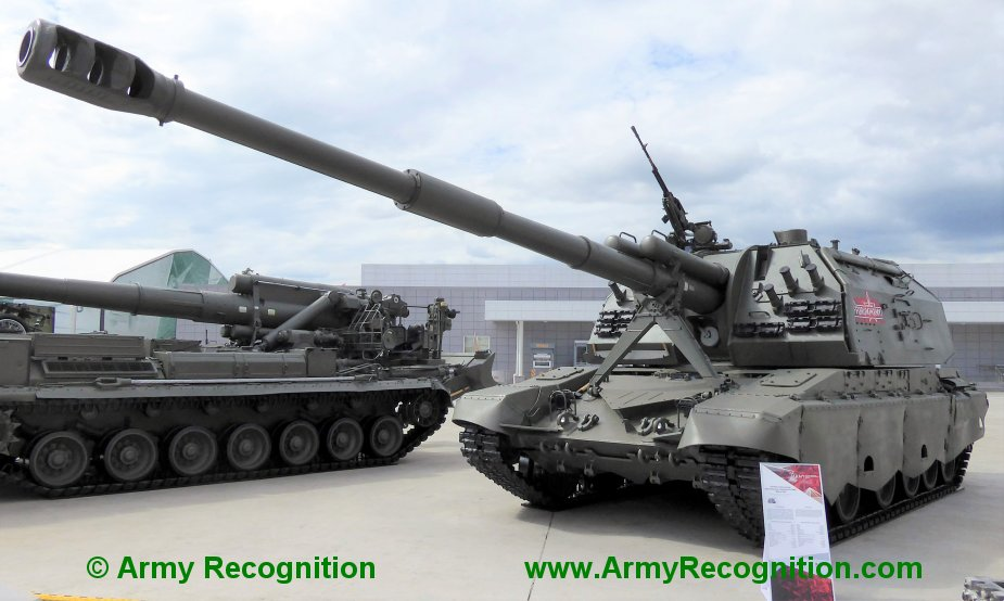 Russian Western District combined arms army receives 1st batch of Msta SM1 artillery systems