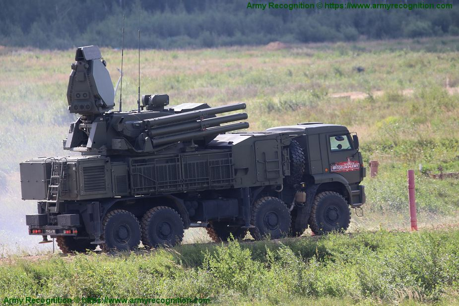 Serbia to purchase six Russian Pantsir S1 air defense missile systems 925 001