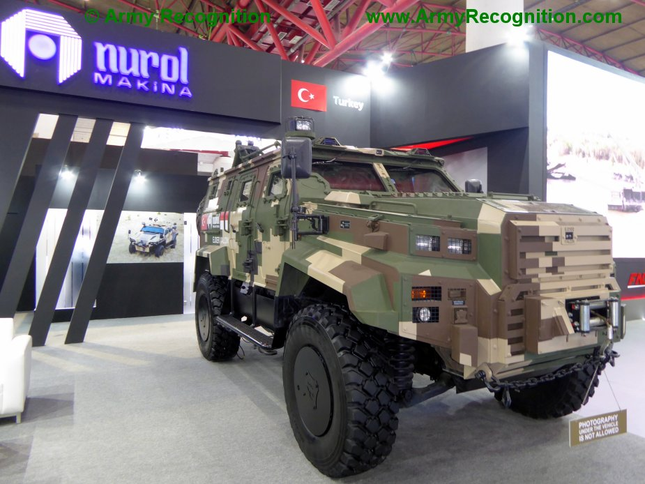Turkish armored vehicles and Aerovironment drones for Tunisia