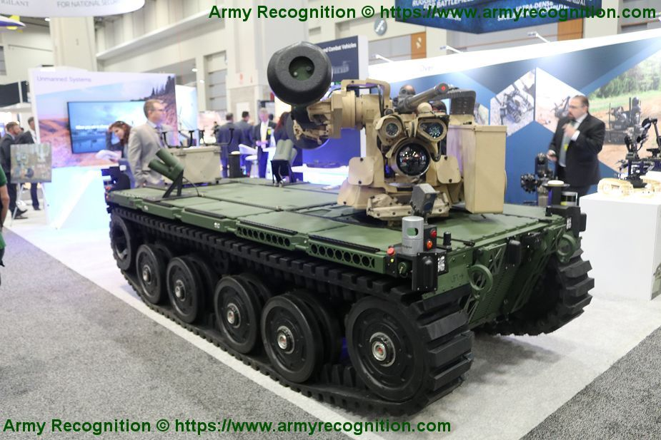 US Army to award Light and Medium Robotic Combat Vehicles to QinetiQ North America and Textron 925 002