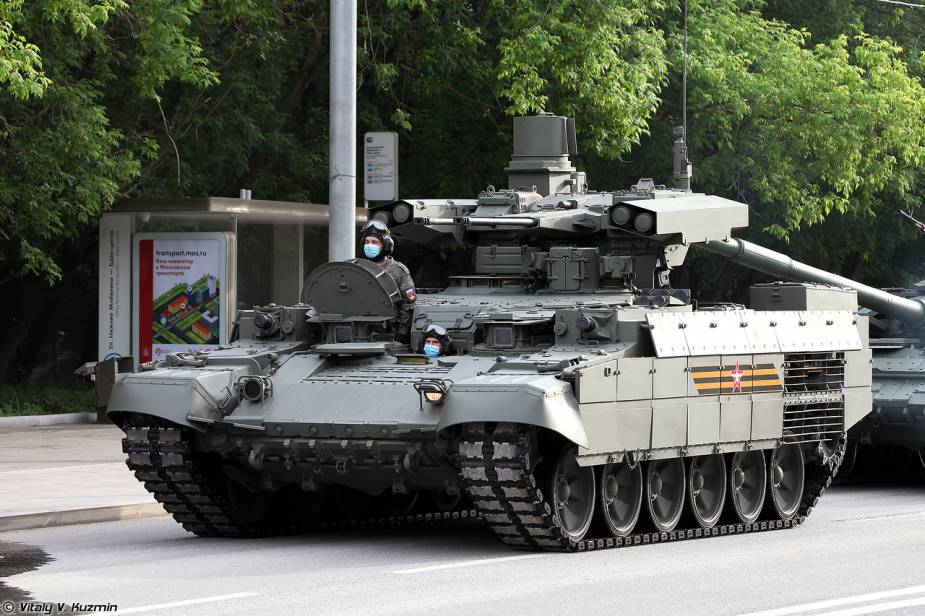 BMPT 72 fire support tracked armored Russia victory day military parade 2020 001