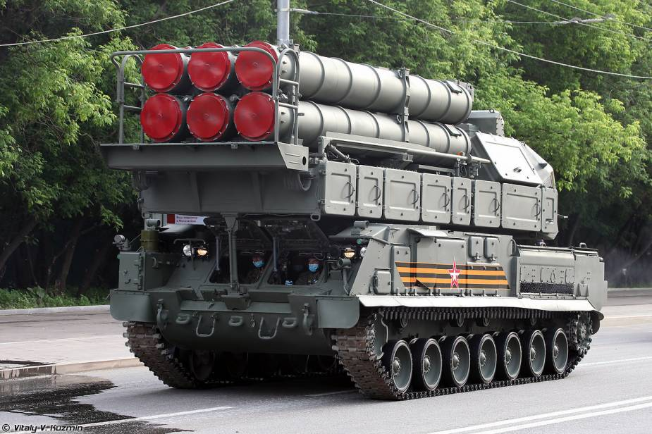 BUK M3 air defense missile system Russia Victory Day military parade 2020 925 001