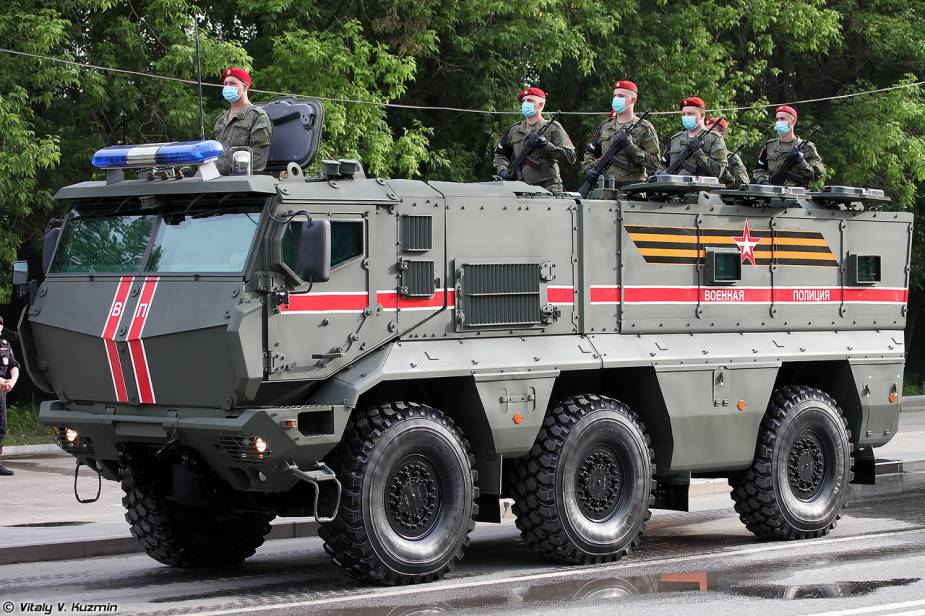 KAMAZ 63968 6x6 Typhoon K Russia Victory Day military parade 2020 925 001