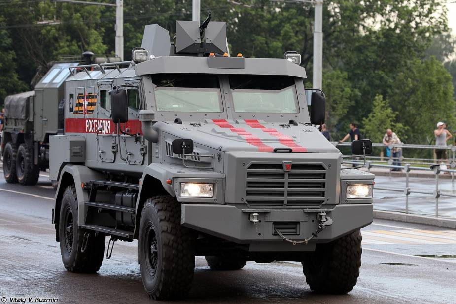 Patrul 4x4 armored vehicle Russia Victory Day military parade 2020 925 001