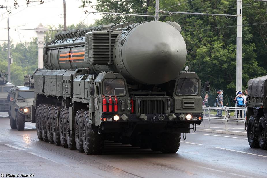 RS 24 Yars mobile ballistic missile Russia Victory Day military parade 2020 925 001