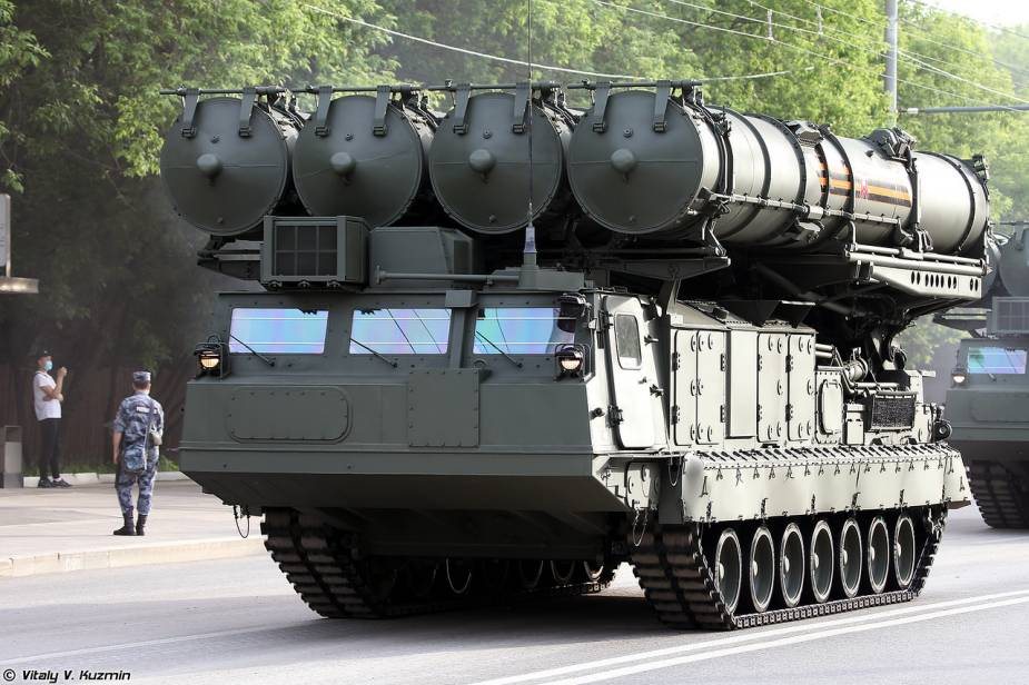 S 300V4 TELAR surface to surface missile Russia Victory Day military parade 2020 925 001