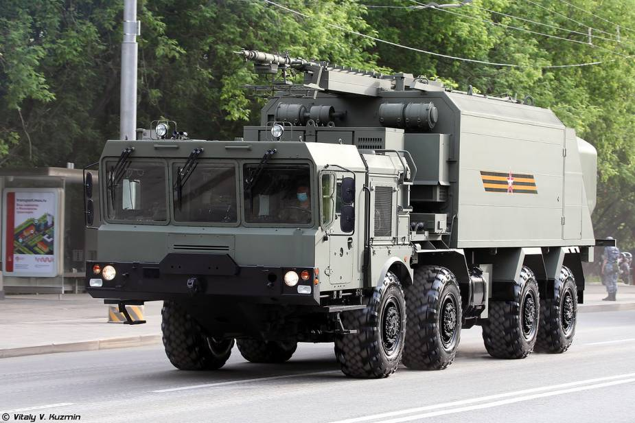 bal anti ship missile system command post Russia Victory Day military parade 2020 925 001