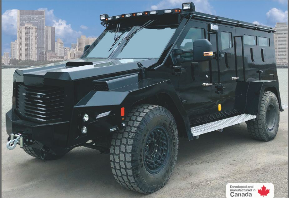 BlackWolf Cambli 4x4 armored truck tactical APC SWAT vehicle Canada Canadian defense industry 925 002