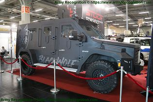 BlackWolf Cambli 4x4 armored truck tactical APC SWAT vehicle Canada Canadian defense industry right side view 001