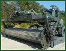 FAUN TRACKWAY USA is showing its innovative Adjustable Ground Mobility System (AGMS) at the Association of United States Army (AUSA) exposition in Washington D.C., from 21-23 October. The AGMS will be mounted on a Volvo FEL L180G at the Mack truck stand 4025 for the duration of the show, where delegates will be able to learn more about this adaptable equipment.