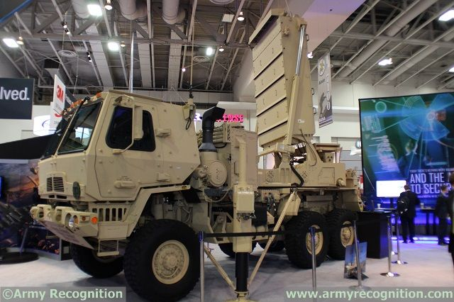 At AUSA 2014 (Association of United States Army) Annual Meeting currently taking place in Washington D.C., visitors can't miss the large TPQ-53 truck mounted radar on the Lockheed Martin exhibit. The AN/TPQ-53 counterfire target acquisition radar is a new generation of counterfire sensor with the flexibility to adapt to uncooperative adversaries and changing missions.