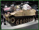 At AUSA 2014, the United States Army Annual Meeting and Exposition, BAE Systems presents its latest development of Future Technology Demonstrator (FTD) armored vehicle with Integrated Directed Energy Weapon.