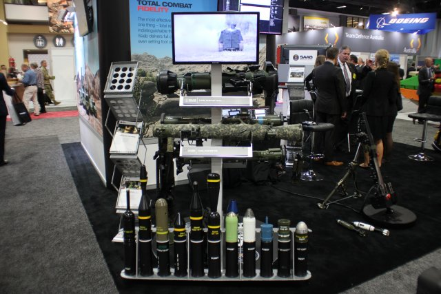 AUSA 2016 Saab awarded a contract by the Defense Advanced Research Projects Agency DARPA 640 001