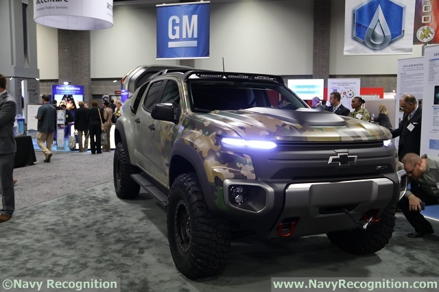 Mission Ready Chevrolet Colorado Zh2 Fuel Cell Vehicle Breaks Cover