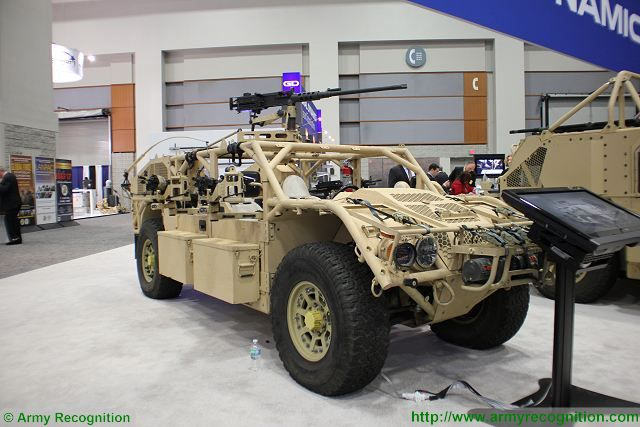 Flyer 60 light strike vehicle General Dynamics AUSA 2016 Washington DC United States 640 001