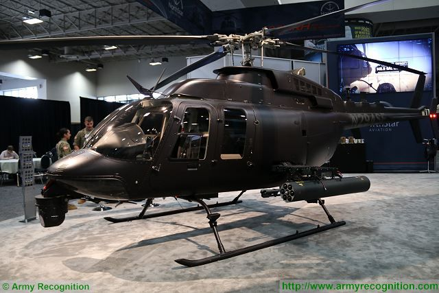 NorthStar Aviation presents low cost solution of multirole light attack helicopter 407MRH at AUSA 2016 640 001