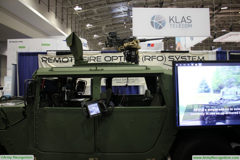 Control Solutions LLC showcases its Remote Fire Option RFO system at AUSA 2017 925 001