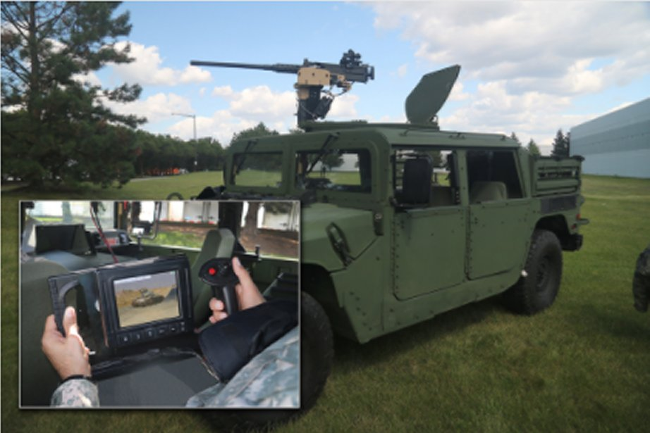 Control Solutions LLC showcases its Remote Fire Option RFO system at AUSA 2017 925 002