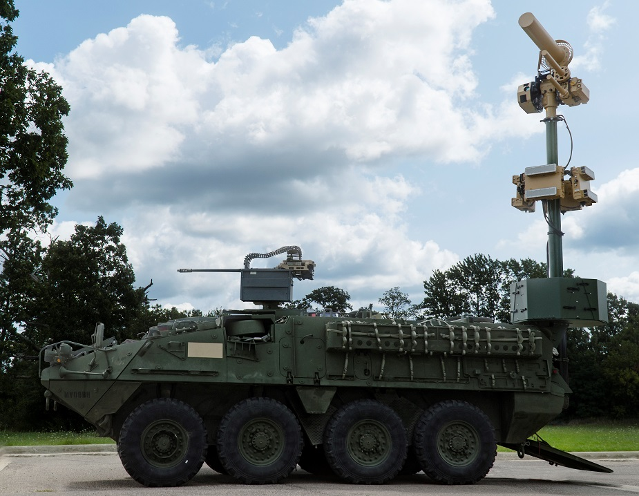 Orbital ATK Counter UAS Stryker