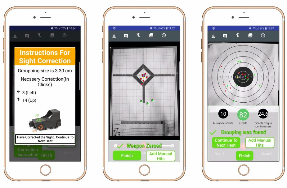 Double Shoot smartphone application for zeroing weapons AUSA 2018 US army defense exhibition 925 001