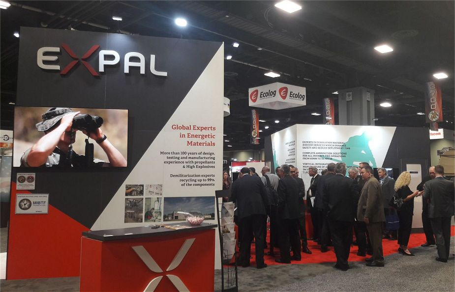 Expal USA to showcase latest development of military products AUSA 2018 US army defense exhibition 925 001
