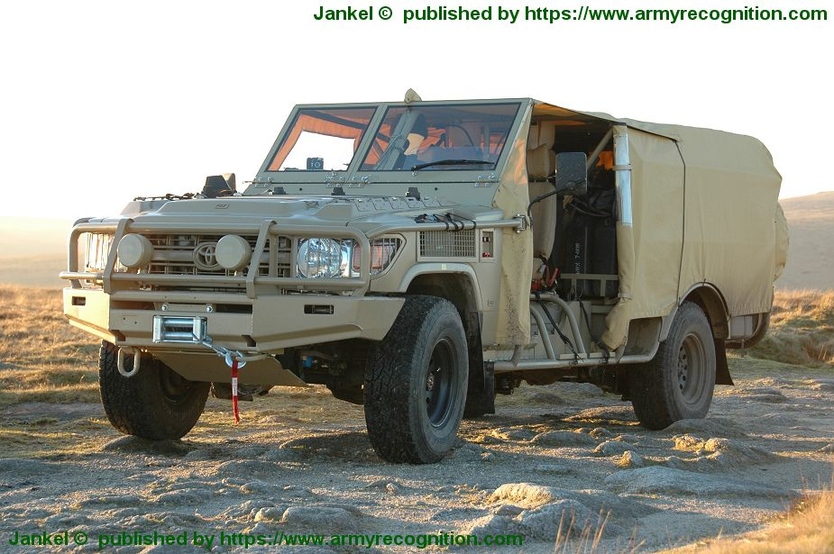 Jankel to promote FOX 4x4 light tactical vehicle at AUSA 2018 United States Army defense exhibition 925 001