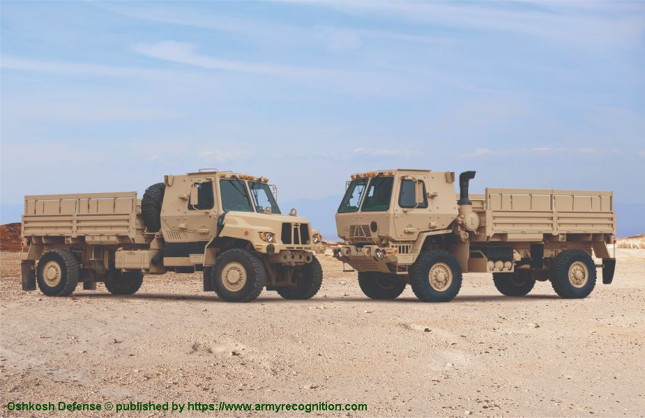 Oshkosh showcases new tactical vehicle FMTV A2 for US Army at AUSA 2018 United States Army defense exhibition 925 001