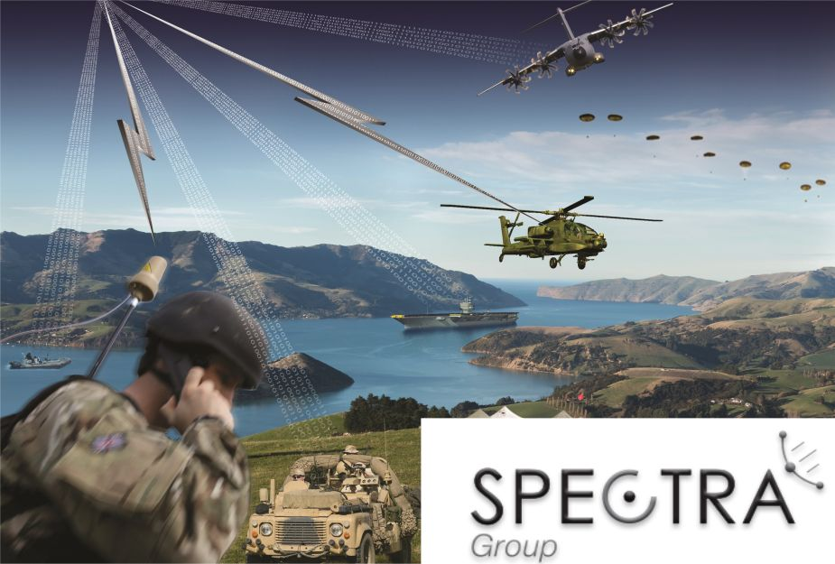 Spectra Group from UK new offices in United States at AUSA 2018 United States Army defense exhibition 925 001